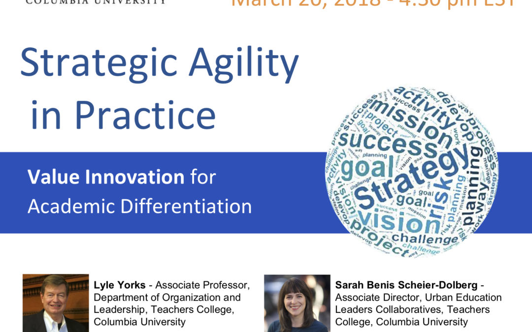 Strategic Agility Webinar Recording